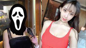 24歲港星謝芷蕙在社群照P圖過頭。(圖/翻攝自謝芷蕙臉書)