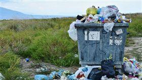 垃圾,貨櫃,垃圾場(圖/翻攝自pixabay)