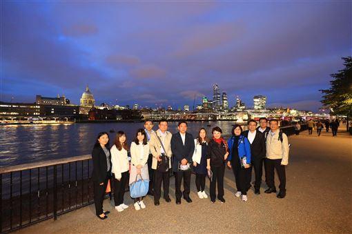 台中市,盧秀燕,參訪,河畔節,借鏡成功(圖/台中市政府提供)中央社