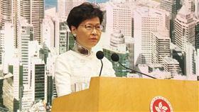 香港,反送中,撤回條例,林鄭月娥,政治危機(圖/資料圖片)中央社