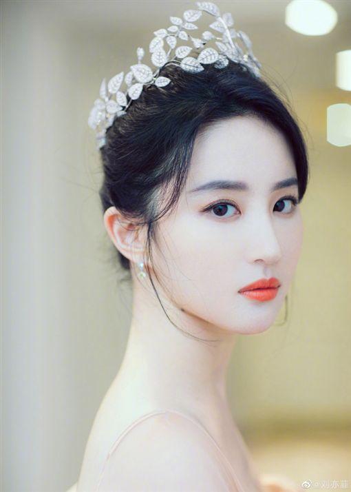 劉亦菲 微博