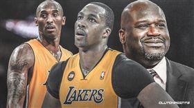 NBA/被俠客柯比針對!魔獸這樣說 NBA,洛杉磯湖人,Dwight Howard,Kobe Bryant,Shaquille O'Neal 翻攝自推特ClutchPoints
