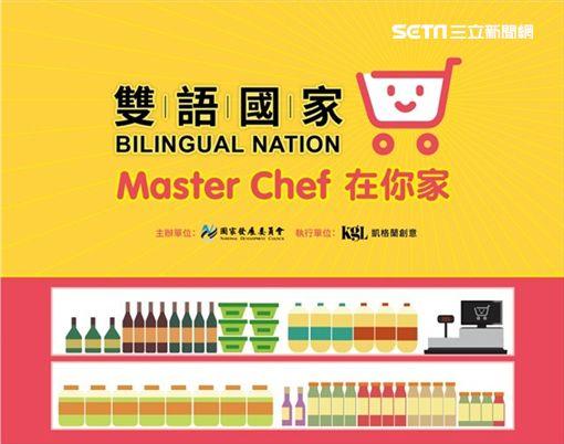 超市購物,英語,國家發展委員會,2030雙語國家政策,秀泰生活台中店,國發會