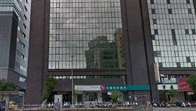台北市民權西路大樓發生工人施工遭電擊的意外(翻攝Google Map)