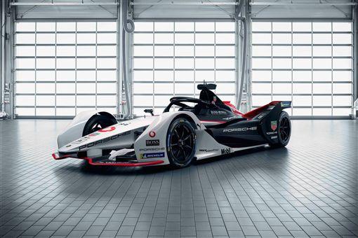 ▲Porsche 99X Electric方程式賽車。(圖/Porsche提供)