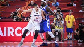 世界盃/第一中鋒命中近9成 FIBA世界盃,塞爾維亞國家隊,Nikola Jokic,丹佛金塊 翻攝自推特