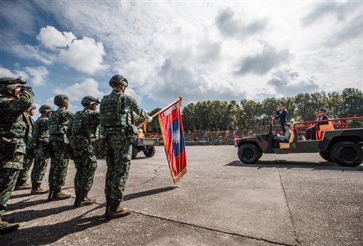 國軍首個聯合兵種營成立 將納編M1A2T戰車、雲豹甲車(圖/國防部發言人臉書)