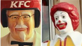 麥當勞叔叔,肯德基爺爺,合成照
