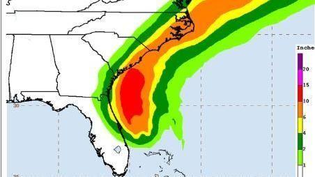 美國,颶風,多利安,強風豪雨,狂襲東岸(圖/截圖至推特)