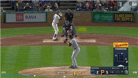 ▲馬林魚莫蘭(Brian Moran)大聯盟初登板首K賞給親弟弟。(圖/翻攝自MLB官網)