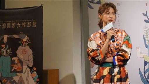 台灣國際女性影展  以控制為主題談性別處境台灣國際女性影展今年以「控制」為主題,探討不同性別在生活中遇到的不同社會遭遇,影展大使林予晞5日出席記者會,分享自身經歷。中央社記者陳秉弘攝  108年9月5日