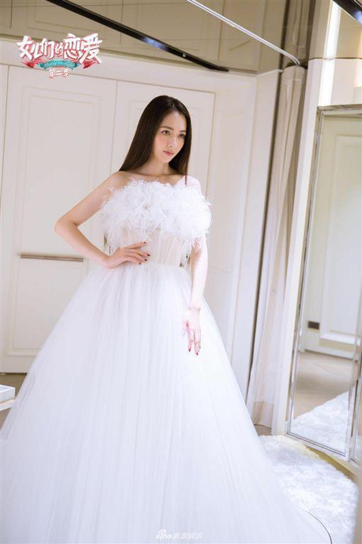 郭碧婷婚紗(微博)