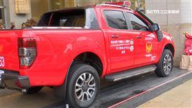 國際服務組織挺消防,贈災情勘查車。(業配