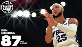 NBA/西蒙斯練跳投…竟毀了2K? NBA,費城七六人,Ben Simmons,跳投,2K 翻攝自推特