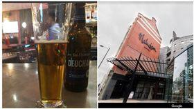 英國曼徹斯特馬爾馬遜酒店(Manchester,Malmaison), 一名澳洲記者不幸在這買了大約212台幣的啤酒。(組合圖/翻攝自Google、推特)