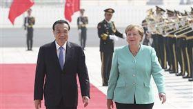 德國總理,梅克爾,美中貿易爭端,香港情勢,中國訪問