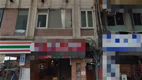 台北市重慶南路一段一家旅館內,唐姓男子入住後,到被發現陳屍房間內,雙手以束帶反綁,頭套塑膠袋,期間沒有他人進出房間,死因離奇。(圖/翻攝自Google Map)
