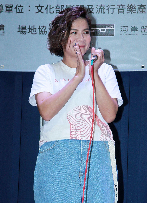 江美琪參加「第二屆愛之日常音樂節」演出。(記者邱榮吉/攝影)