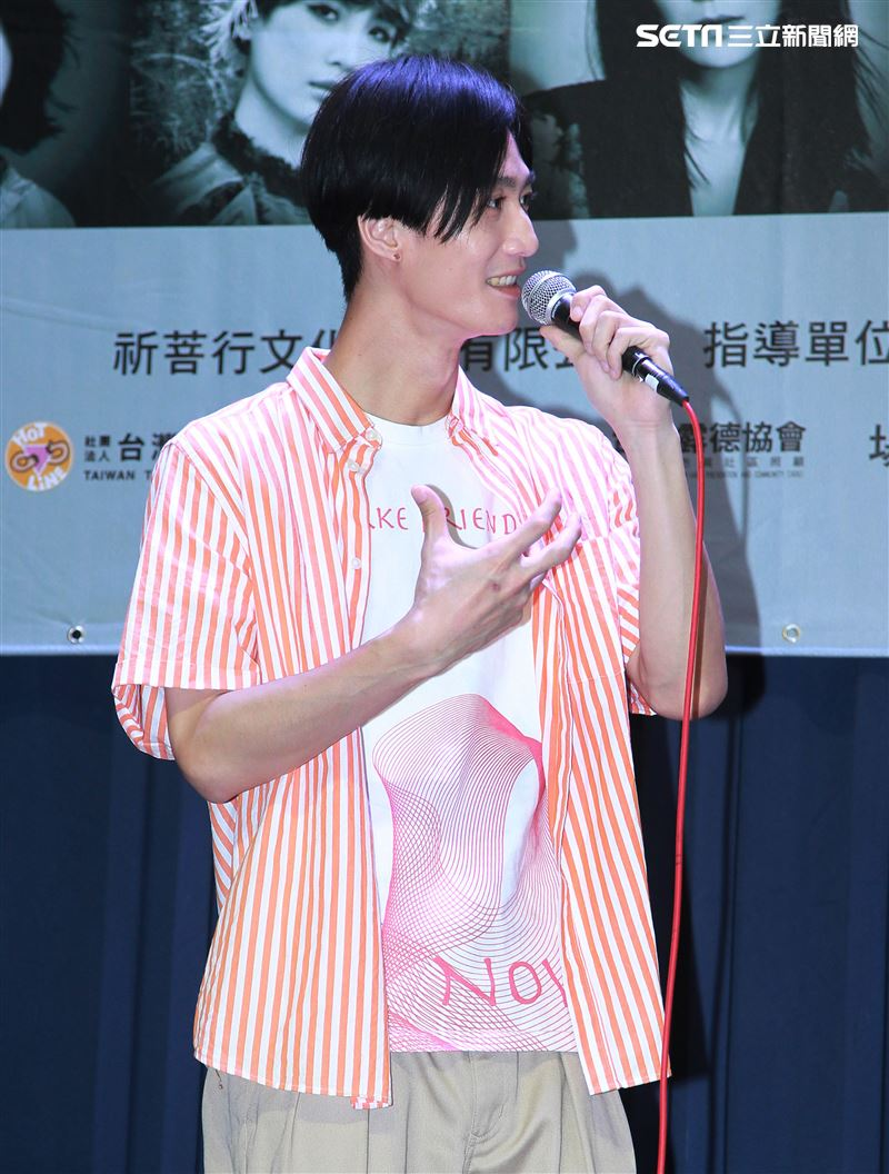 李英宏參加「第二屆愛之日常音樂節」演出。(記者邱榮吉/攝影)