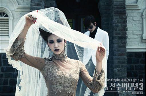 安宰賢2012年參演綜藝節目《挑戰!韓國超模第三季》畫面翻攝韓媒