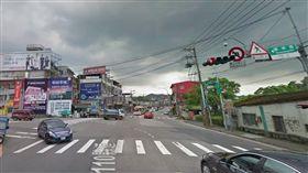 華城路、安康路叉口。(圖/翻攝自GoogleMap)