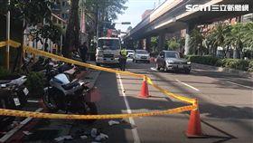台北,車禍,重機,違停,擦撞,復興南路