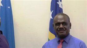 索國外交部長馬內列。(圖/翻攝自索羅門群島外交部網頁mfaet.gov.sb)