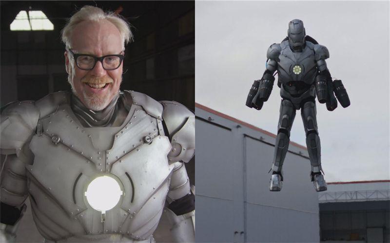 鋼鐵人回來了!他復刻真實版可飛上天