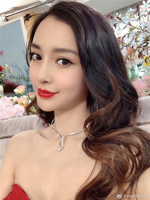 Angelababy,楊穎,美少女戰士(圖/翻攝自微博)