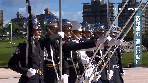 國軍門面「三軍儀隊」 帥氣的背後汗水大秘辛