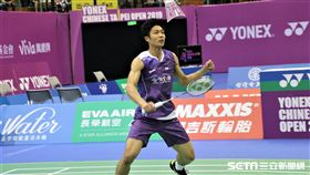 ▲周天成晉級台北公開賽男單冠軍戰。(圖/記者劉家維攝影)