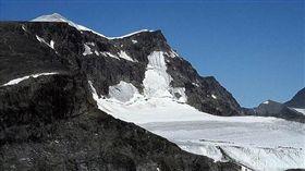瑞典,喀布內卡塞山,Kebnekaise,全球暖化,冰川(圖/翻攝自Twitter)