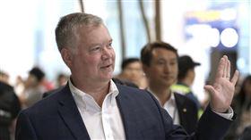 美國北韓政策特別代表畢根(Stephen Biegun)。(圖/美聯社)