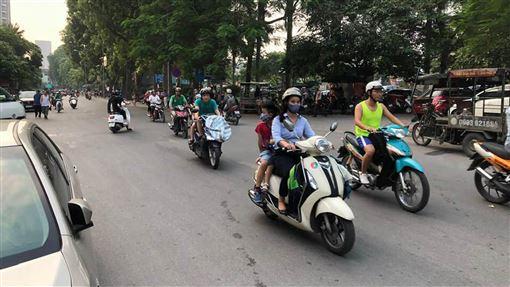 越南的機車人口眾多越南的機車人口眾多,因此機車工業也是重點發展項目。中央社記者吳柏緯河內攝  108年9月8日