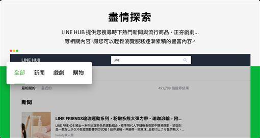 LINE電腦版,MAC,LINE,LINE HUB,聊天室圖/翻攝自LINE部落格