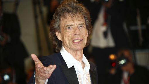 英國搖滾傳奇米克傑格(Mick Jagger)。(圖/美聯社)