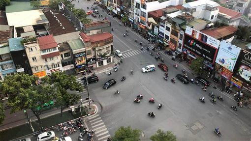 越南機車工業發展迅速越南的機車人口眾多,因此機車工業也是重點發展項目。中央社記者吳柏緯河內攝  108年9月8日