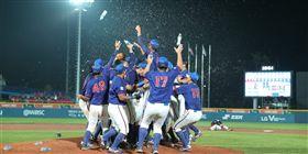 ▲台灣U18青棒在韓國機張奪下世界冠軍。(圖/取自國際棒壘總會官網)