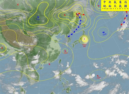 琵琶颱風恐生成?模擬路徑先曝光!中秋連假恐全台有雨圖中央氣象局