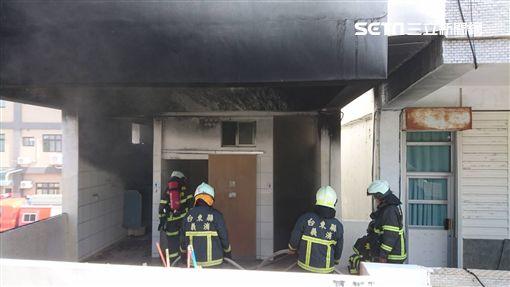 台東,成功國小,男廁,火警