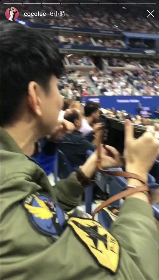 林俊傑IG發文與李玟看美國網球公開賽