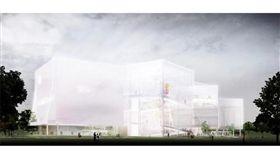 台中綠美圖即將開工,預計2022年完工啟用(圖/台中市政府)