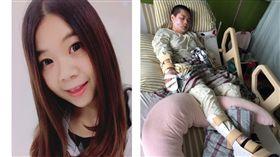 正妹楊薏蓁遭警車撞殘,全身癱瘓