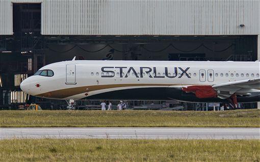 星宇航空全機彩繪實體曝光(圖/翻攝自星宇航空 STARLUX Airlines臉書)