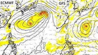熱帶擾動不確定性 中秋連假北東降雨