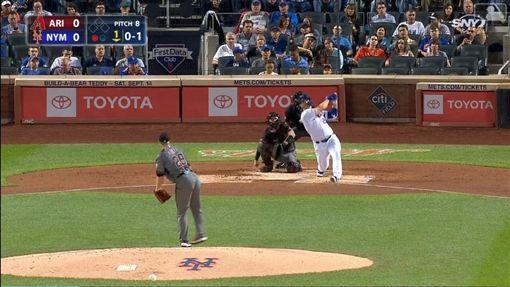 ▲阿隆索(Pete Alonso)單場雙響砲,獨居大聯盟全壘打王。(圖/翻攝自MLB官網)