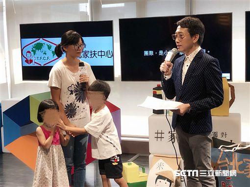 吳婉君,小傑媽媽,台北家扶,圖/記者蔡依芳攝影