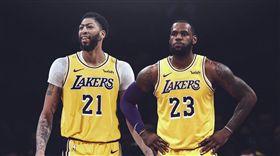 NBA/詹皇讓位老大?一眉親口證實 NBA,洛杉磯湖人,LeBron James,Anthony Davis 翻攝自推特