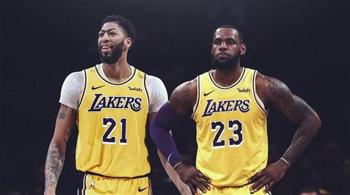 NBA/詹皇讓位老大?一眉親口證實NBA,洛杉磯湖人,LeBron James,Anthony Davis翻攝自推特