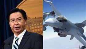 台灣擬報復空襲中國?外交部長吳釗燮出面澄清。(組合圖/資料照)